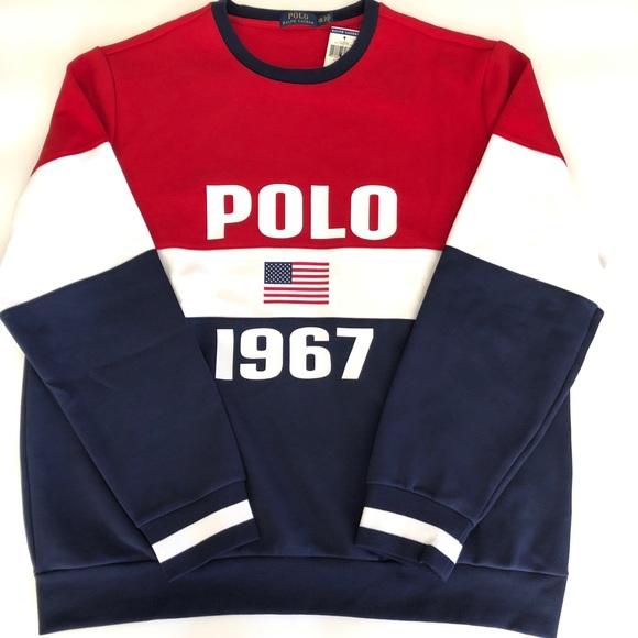 1967 Lauren 2xl Men's Polo Sweatshirt Nwt Ralph DeE2YIWH9